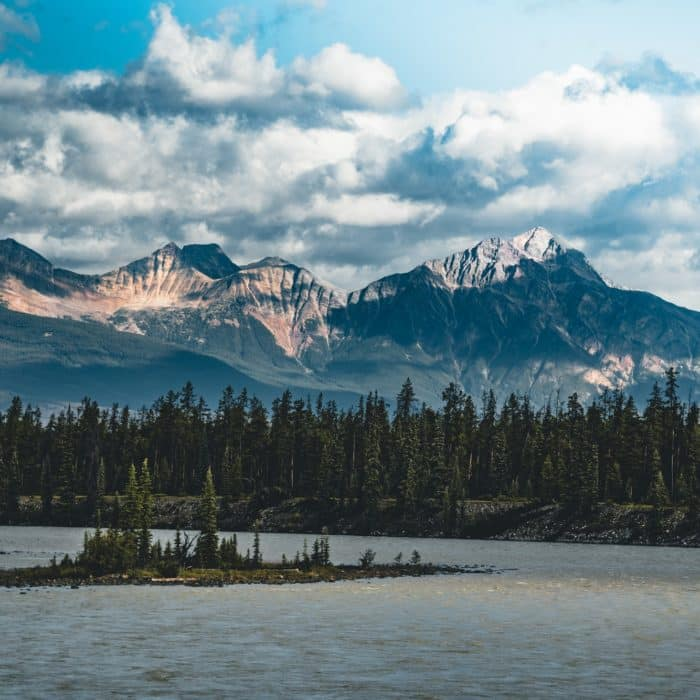 Le sentier d'Athabasca