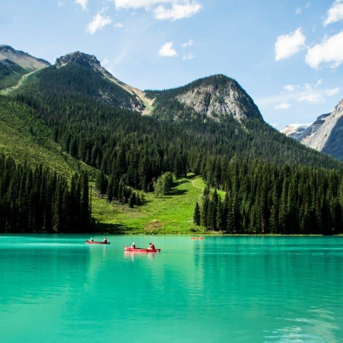 Le sentier du lac Emerald