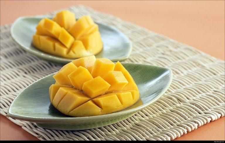 Comment manger et éplucher une mangue?