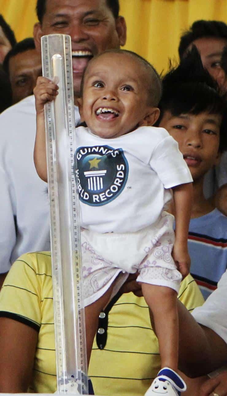 Top 15 des hommes les plus petits du monde